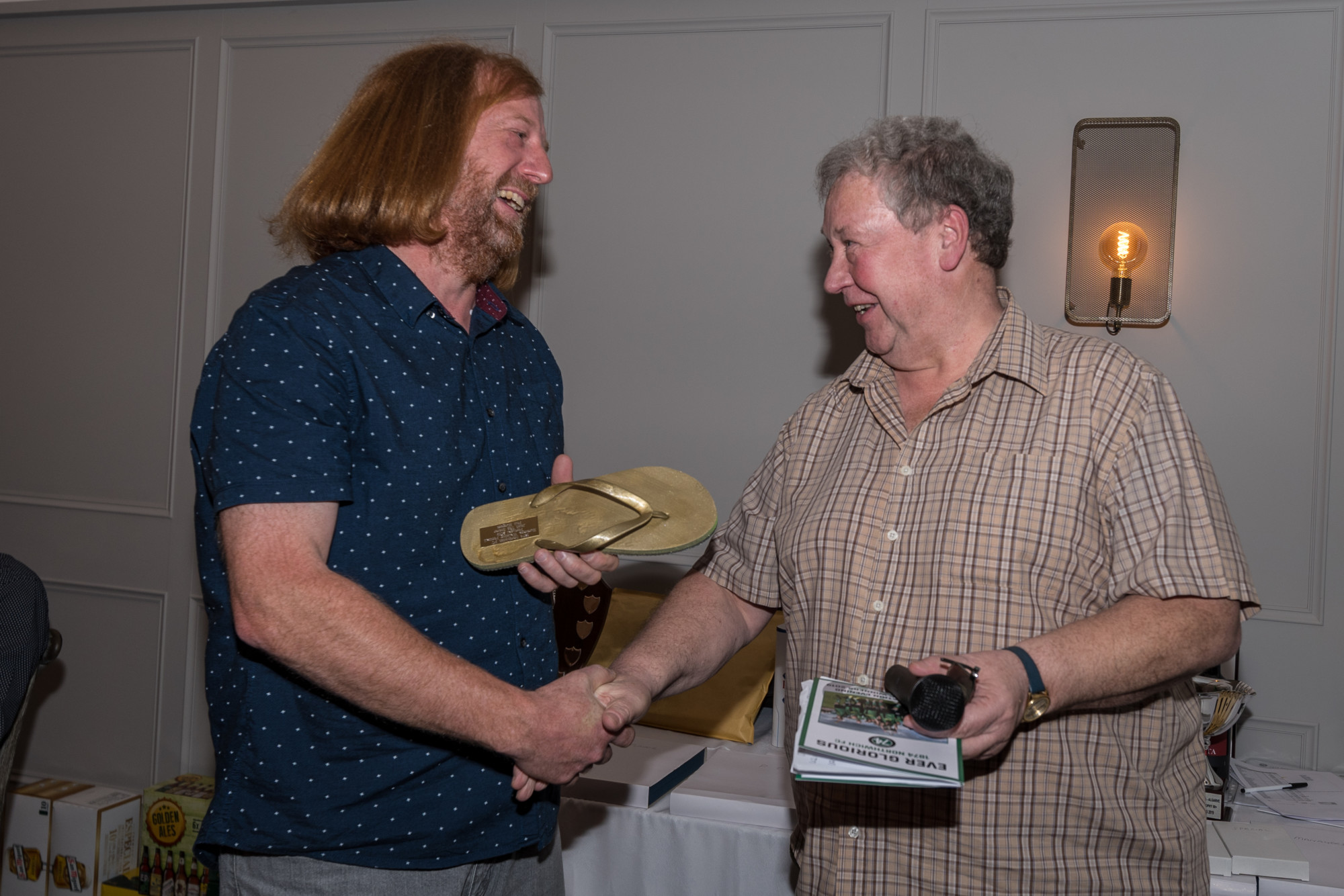 Phil Burgess - Golden Flip Flop winner