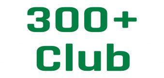 300+ Club Draw – November 2019