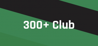 300+ Club August winners